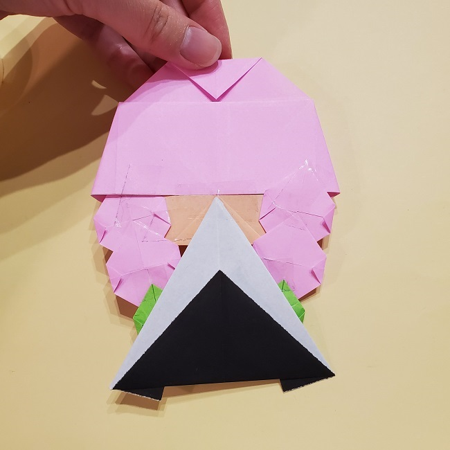 きめつのやいばの折り紙 みつりの折り方 (51)