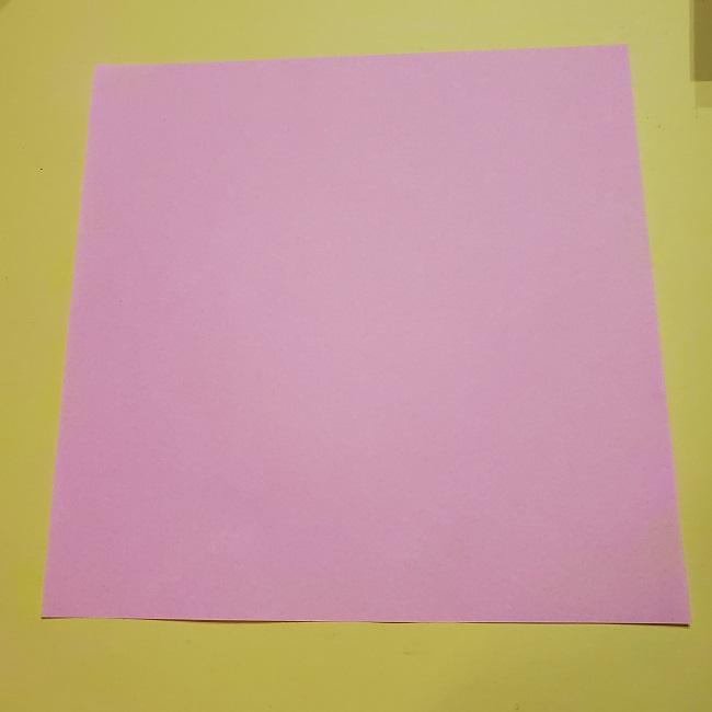 きめつのやいばの折り紙 みつりの折り方 (6)