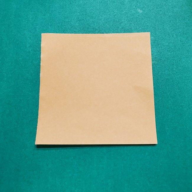 きめつのやいばの折り紙 宇髄天元(うずいてんげん)の折り方作り方 (1)