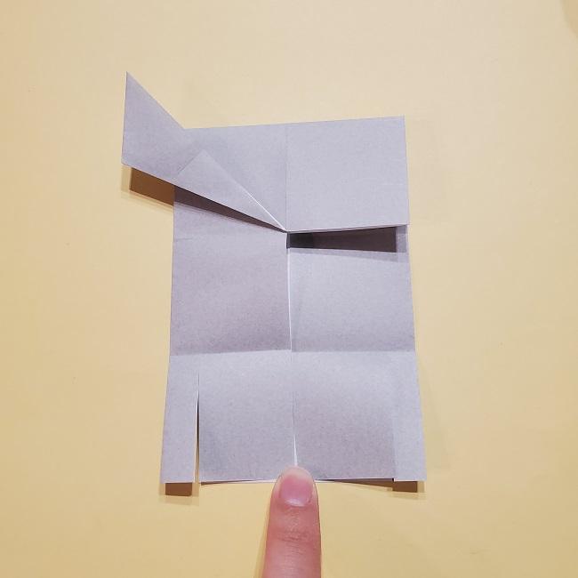 きめつのやいばの折り紙 宇髄天元(うずいてんげん)の折り方作り方 (22)