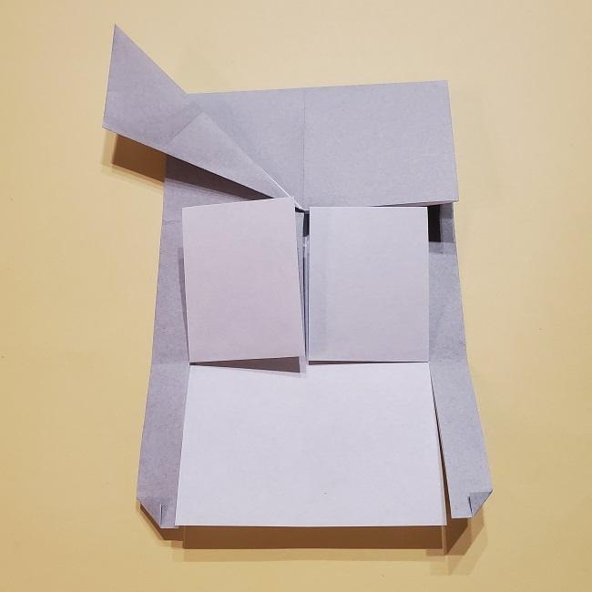 きめつのやいばの折り紙 宇髄天元(うずいてんげん)の折り方作り方 (24)