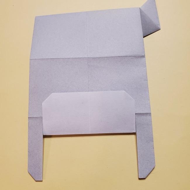 きめつのやいばの折り紙 宇髄天元(うずいてんげん)の折り方作り方 (27)