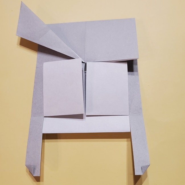 きめつのやいばの折り紙 宇髄天元(うずいてんげん)の折り方作り方 (28)