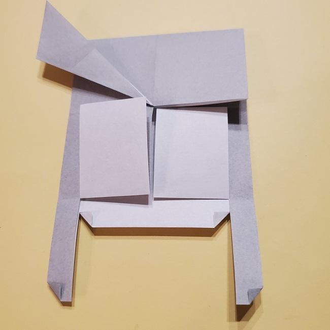 きめつのやいばの折り紙 宇髄天元(うずいてんげん)の折り方作り方 (29)