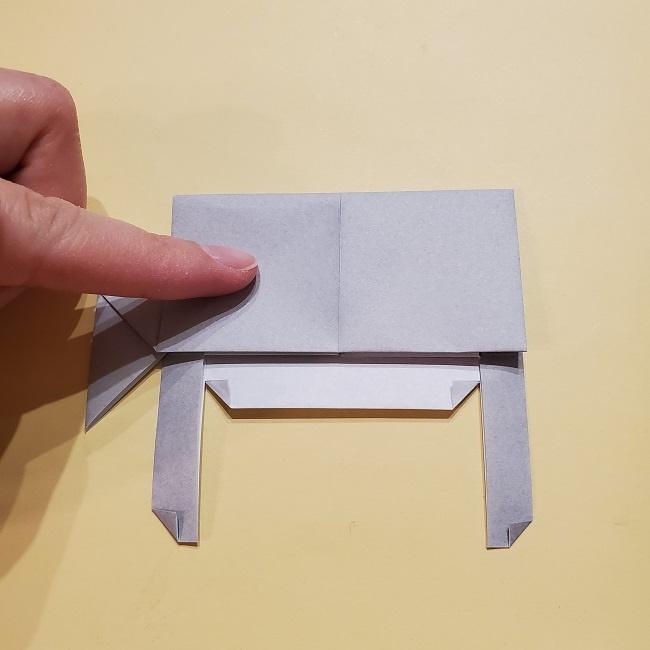 きめつのやいばの折り紙 宇髄天元(うずいてんげん)の折り方作り方 (30)