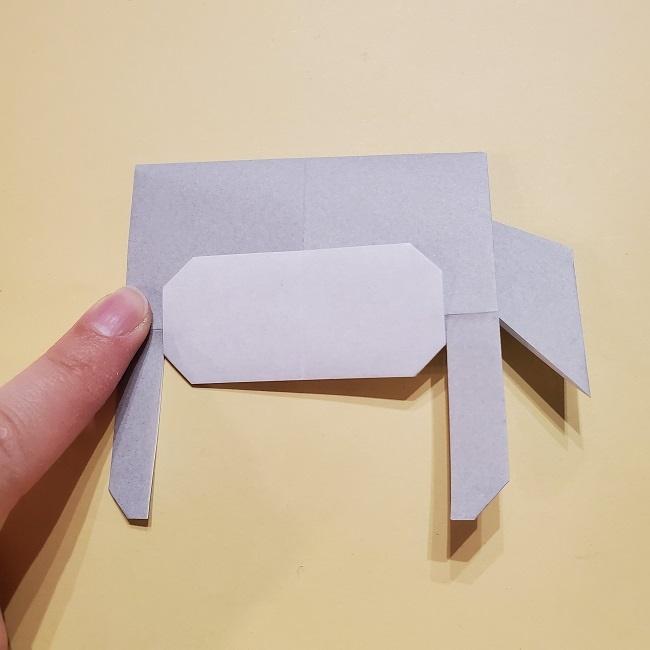 きめつのやいばの折り紙 宇髄天元(うずいてんげん)の折り方作り方 (31)