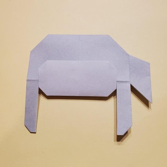 きめつのやいばの折り紙 宇髄天元(うずいてんげん)の折り方作り方 (32)