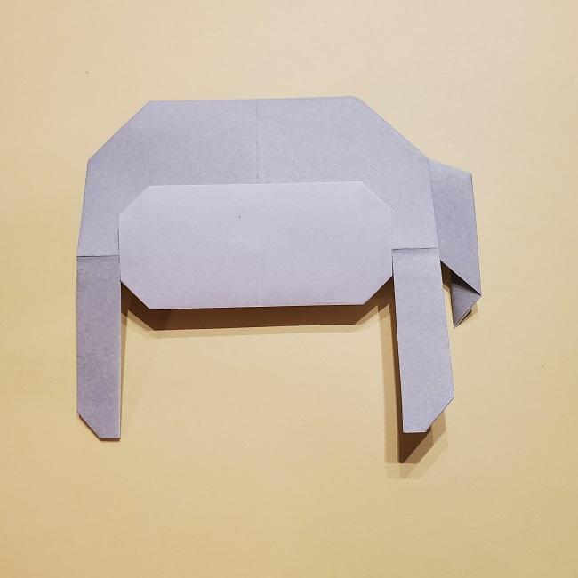 きめつのやいばの折り紙 宇髄天元(うずいてんげん)の折り方作り方 (33)