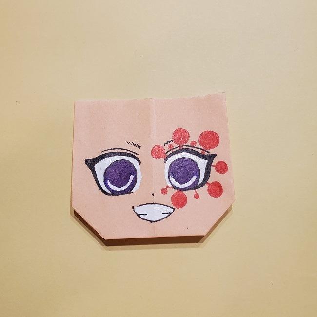 きめつのやいばの折り紙 宇髄天元(うずいてんげん)の折り方作り方 (34)