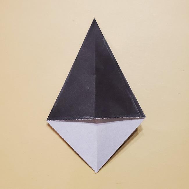 きめつのやいばの折り紙 宇髄天元(うずいてんげん)の折り方作り方 (41)