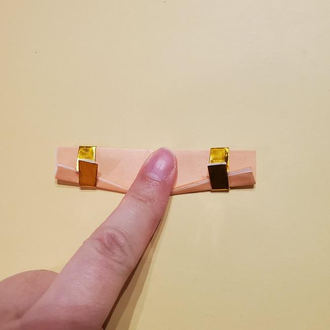 きめつのやいばの折り紙 宇髄天元(うずいてんげん)の折り方作り方 (54)