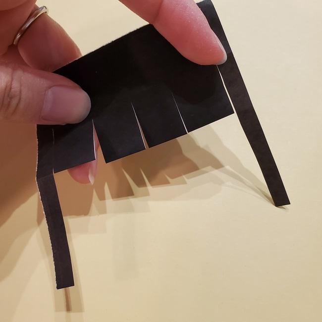きめつの刃 折り紙★カナヲの折り方 (13)