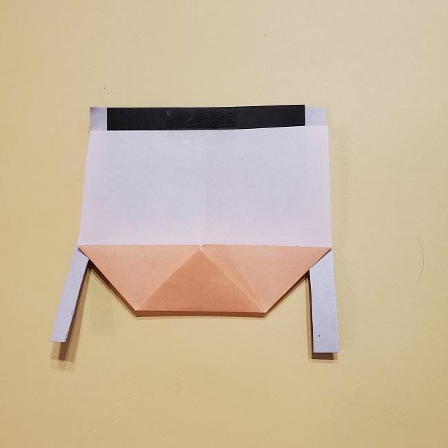きめつの刃 折り紙★カナヲの折り方 (17)