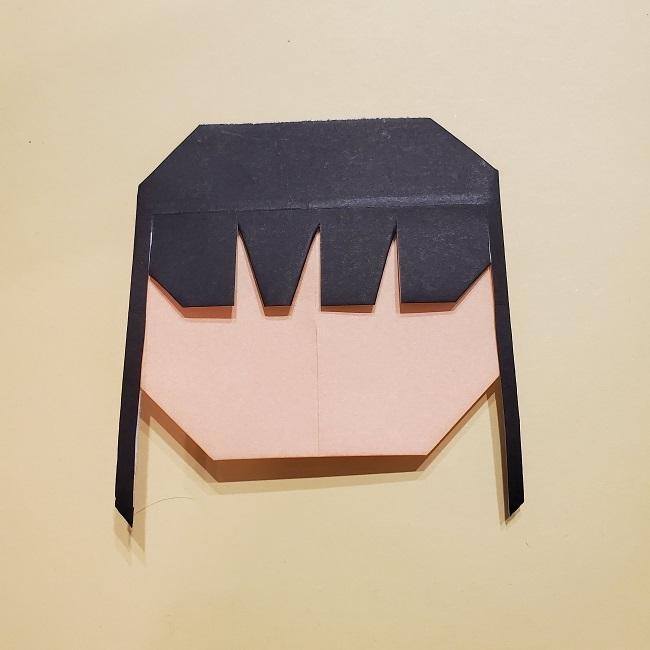 きめつの刃 折り紙★カナヲの折り方 (21)