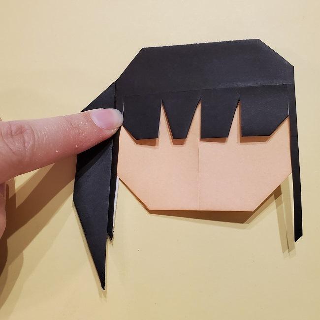 きめつの刃 折り紙★カナヲの折り方 (30)