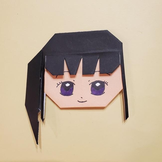きめつの刃 折り紙★カナヲの折り方 (31)