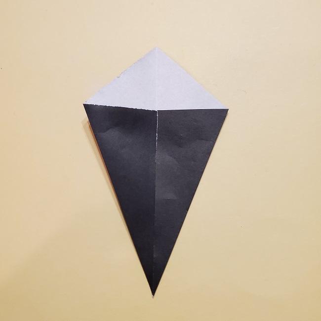 きめつの刃 折り紙★カナヲの折り方 (35)