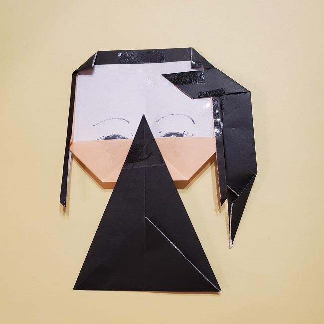 きめつの刃 折り紙★カナヲの折り方 (37)
