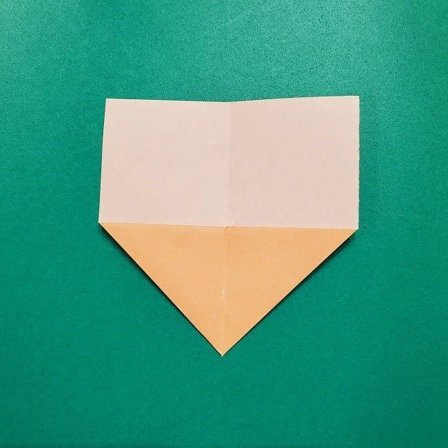 きめつの刃 折り紙★カナヲの折り方 (4)