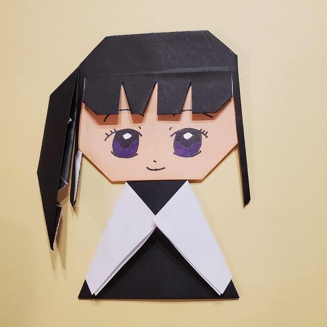 きめつの刃 折り紙★カナヲの折り方 (44)