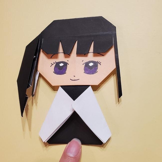 きめつの刃 折り紙★カナヲの折り方 (45)