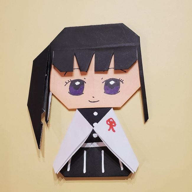 きめつの刃 折り紙★カナヲの折り方 (47)