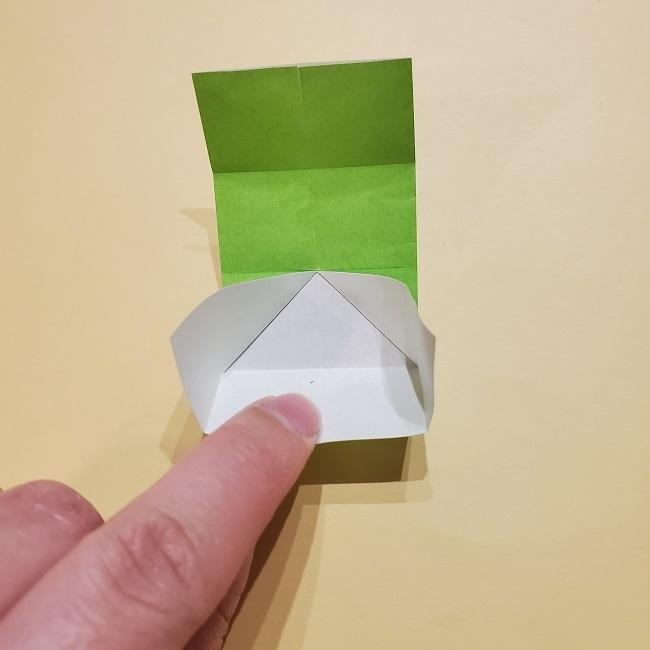 きめつの刃 折り紙★カナヲの折り方 (56)