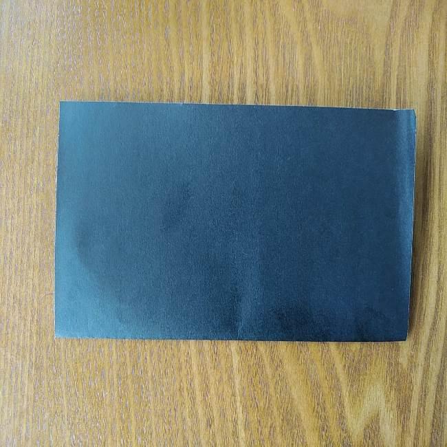すみっこぐらし『おにぎり』の折り紙*折り方(平面) (2)