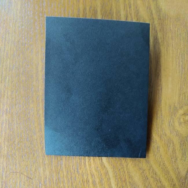 すみっこぐらし『おにぎり』の折り紙*折り方(平面) (3)