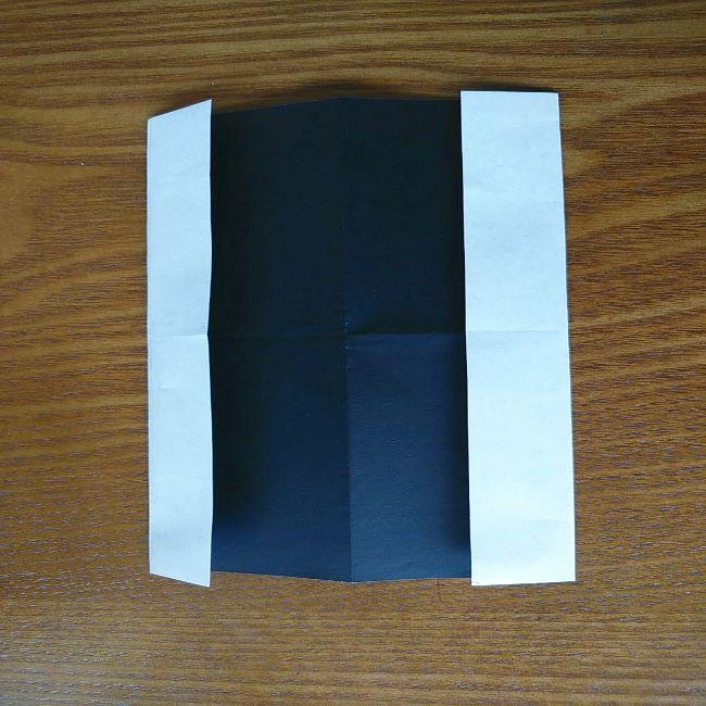 すみっこぐらし『おにぎり』の折り紙*折り方(平面) (6)
