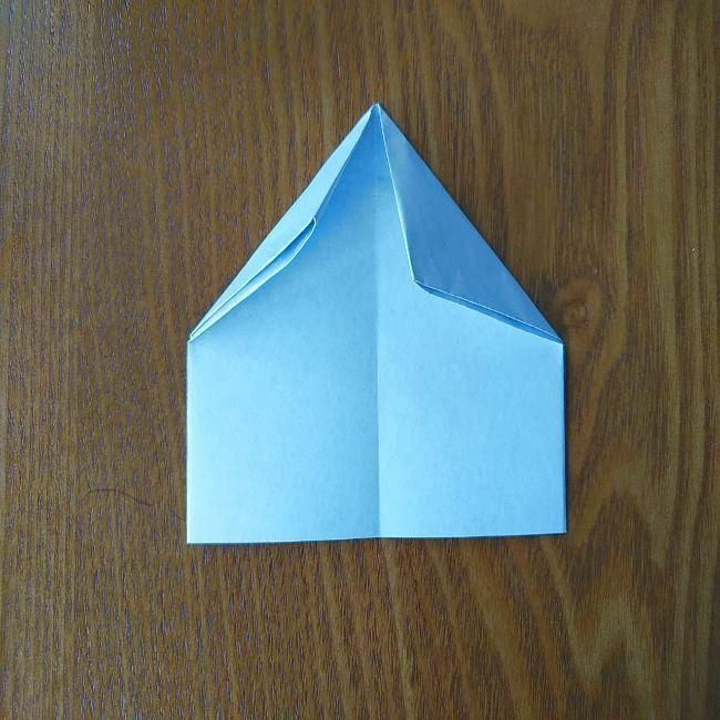 すみっこぐらし『おにぎり』の折り紙*折り方(平面) (8)
