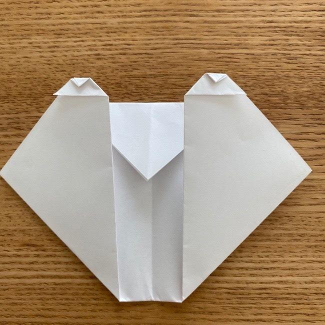 すみっこぐらしの折り紙アイスしろくま (10)