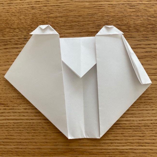 すみっこぐらしの折り紙アイスしろくま (11)