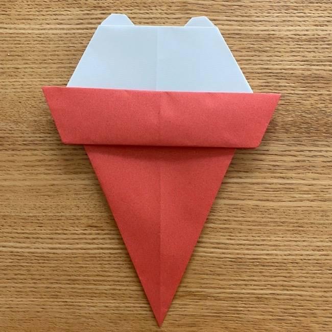すみっこぐらしの折り紙アイスしろくま (14)