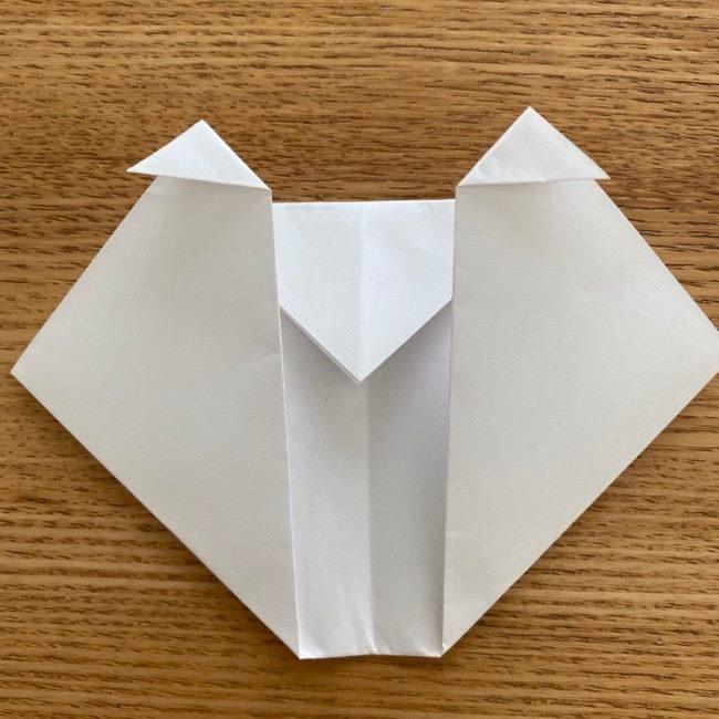 すみっこぐらしの折り紙アイスしろくま (9)