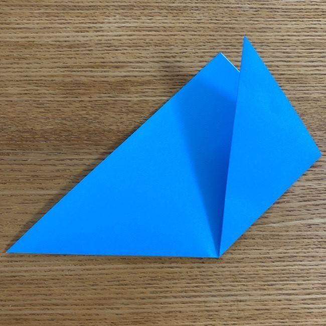 すみっこぐらしの折り紙アイスとかげ (3)