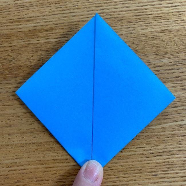 すみっこぐらしの折り紙アイスとかげ (4)