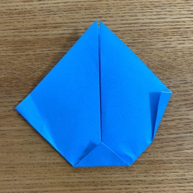 すみっこぐらしの折り紙アイスとかげ (7)