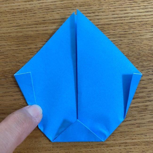 すみっこぐらしの折り紙アイスとかげ (8)