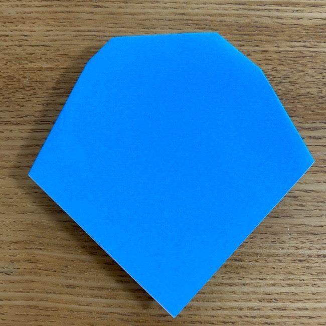 すみっこぐらしの折り紙アイスとかげ (9)