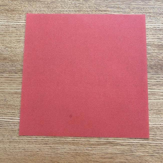 すみっこぐらしの折り紙アイスのコーンの折り方 (1)