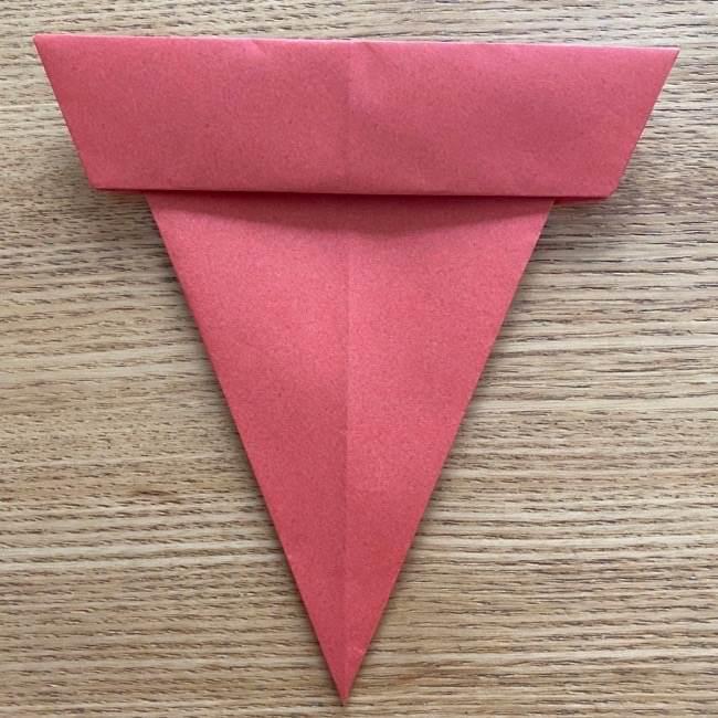 すみっこぐらしの折り紙アイスのコーンの折り方 (10)