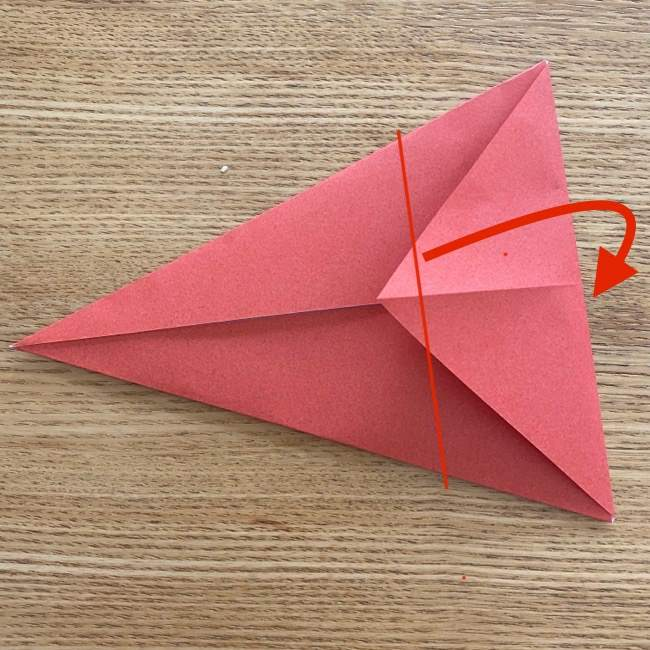すみっこぐらしの折り紙アイスのコーンの折り方 (5)