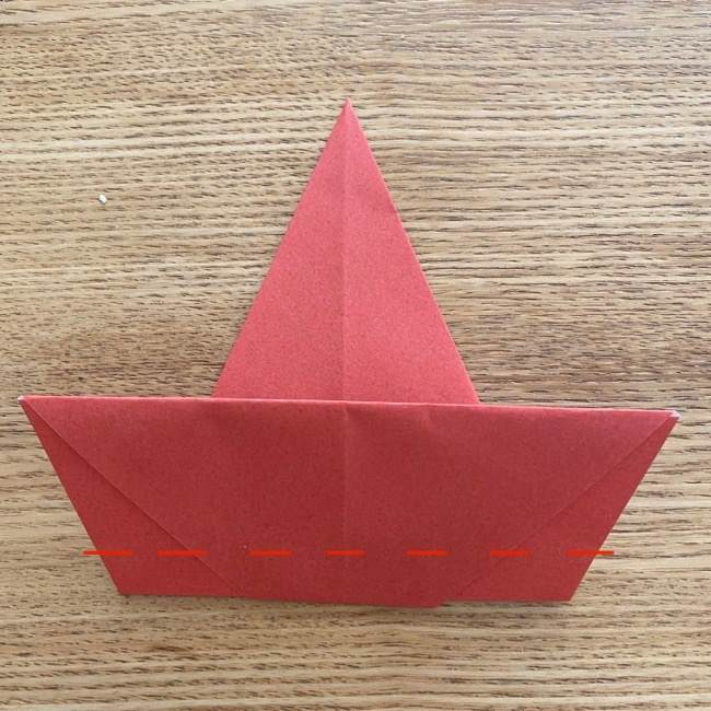 すみっこぐらしの折り紙アイスのコーンの折り方 (6)