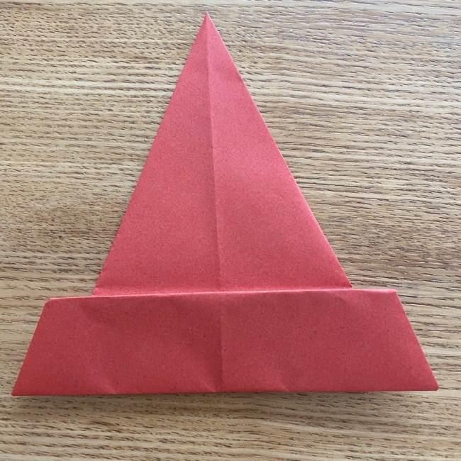 すみっこぐらしの折り紙アイスのコーンの折り方 (7)