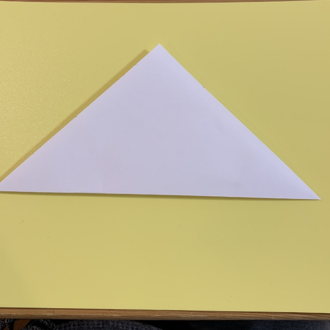 すみっこぐらし にせつむりの折り紙★折り方・作り方 (1)
