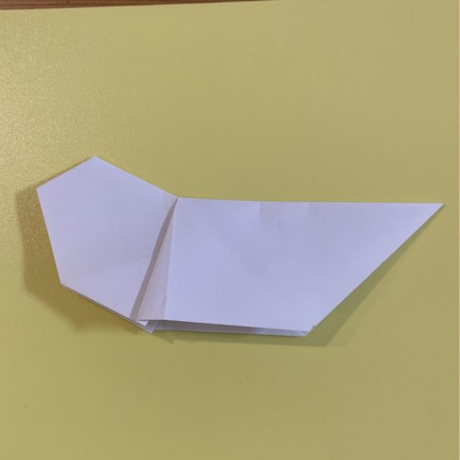 すみっこぐらし にせつむりの折り紙★折り方・作り方 (10)