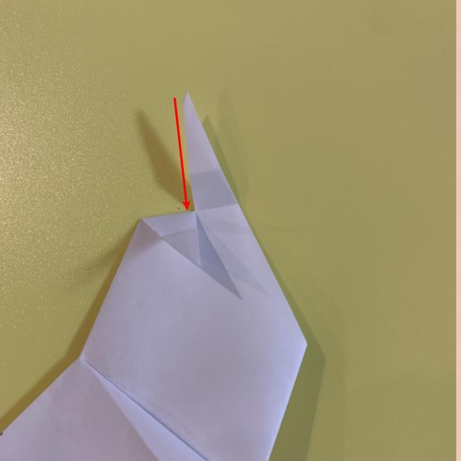 すみっこぐらし にせつむりの折り紙★折り方・作り方 (11)