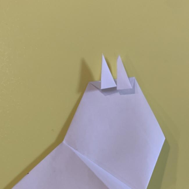 すみっこぐらし にせつむりの折り紙★折り方・作り方 (12)