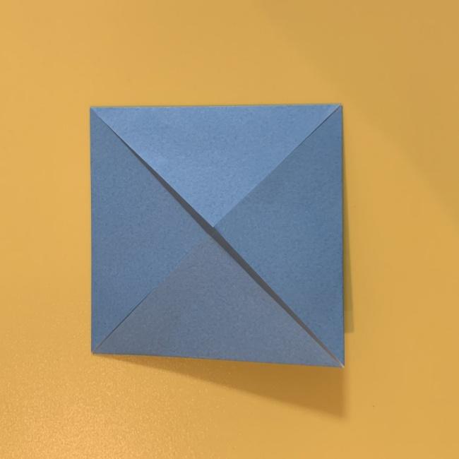 すみっこぐらし にせつむりの折り紙★折り方・作り方 (15)